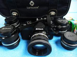 ニコン フィルム 一眼レフ カメラ 本体 FM3A レンズ付き
